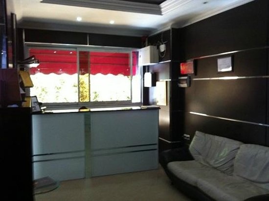 Hotel Dar El Ikram : reception area