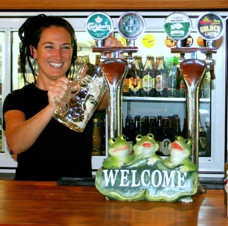 Whistling Frog Cafe & Bar: Craft Beer on Tap