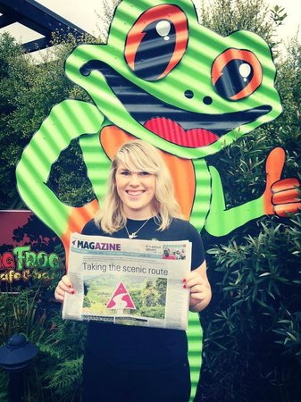 Whistling Frog Cafe & Bar: Featured in the Newspaper