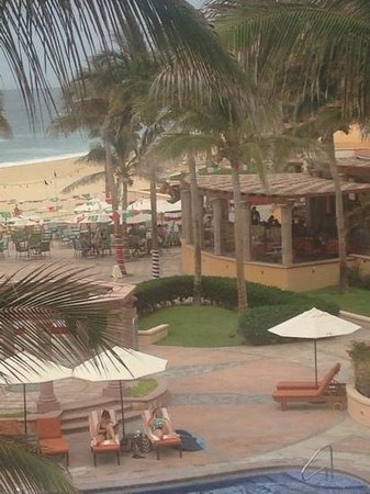 Playa Grande Resort: view from balcony