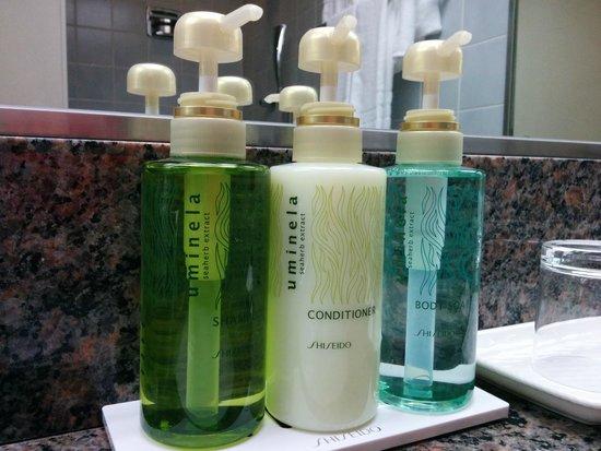 Dai-Ichi Hotel Annex: Shiseido amenities