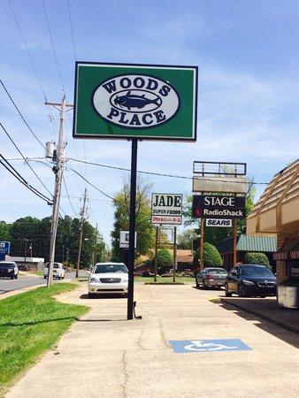 Woods Place  1173 Washington St (870)836-0474 Est. 1984  Catfish, Steaks, Salads, Burgers,