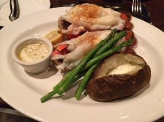The Keg Steakhouse + Bar - South Edmonton Common: Lobster Dinner