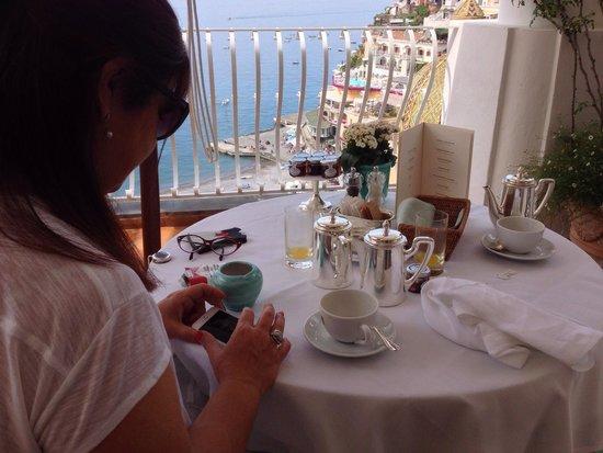 Le Sirenuse Hotel: Desayuno