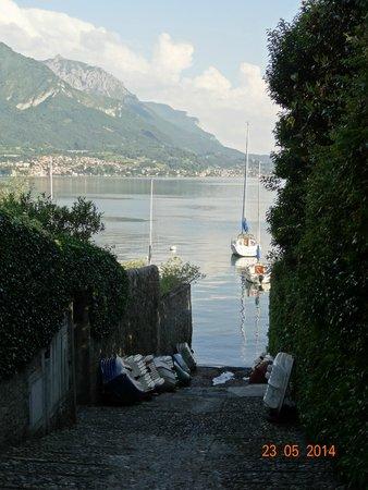 Hotel Miralago B&B and Apartments: Walk into Bellagio