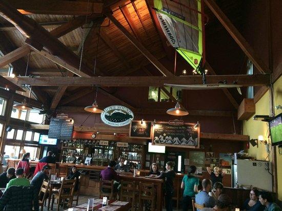 Howe Sound Brew Pub : Innenansicht Brauerei