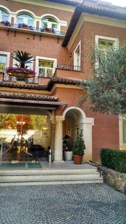 Hotel Principe Torlonia : Entrada