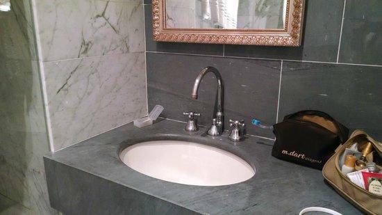 Hotel Principe Torlonia: Banho
