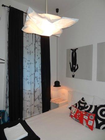 The Hostel : Quarto de casal com banheiro privativo