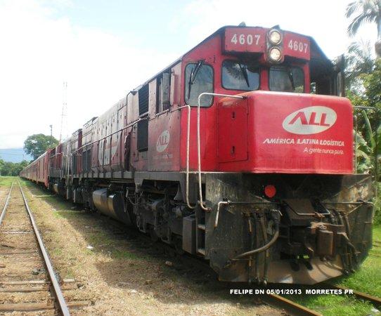 Estrada de Ferro Morretes- Curitiba: Estação em Morretes