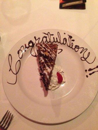 Brazeiros: Chocolate eruption cake