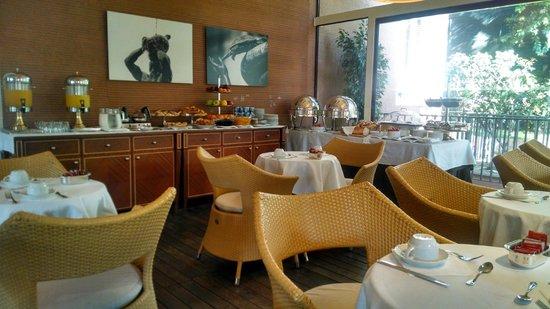 Hotel Principe Torlonia: Restaurante / café da manhã