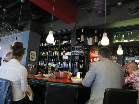 Stone Road Grille : Varied wine selection