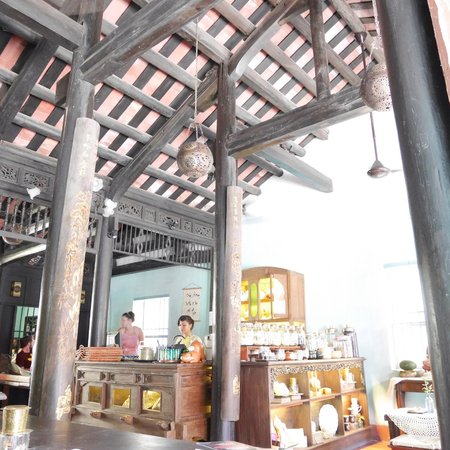 Reaching Out Tea House Interior