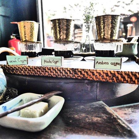 Reaching Out Tea House: Coffee Tasting Menu