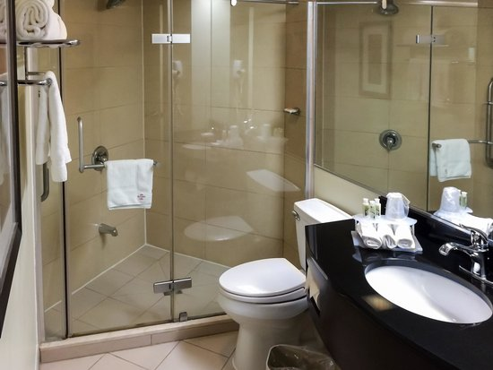 Holiday Inn Express Hotel & Suites Montreal Airport : Large Clean Bath