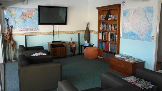 Bush Village Budget Cabins : Communal Lounge 2014