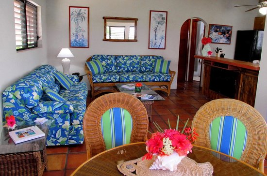 Harbour Club Villas & Marina : Flat screen TV and a fully equipped kitchen