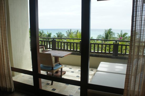 Shangri-La's Boracay Resort & Spa: Balcony