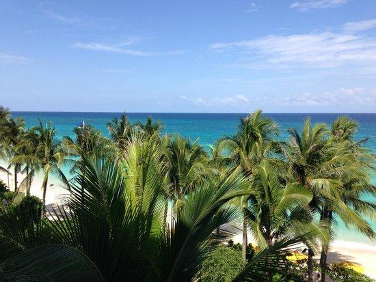 Shangri-La's Boracay Resort & Spa: View from 4th floor Deluxe Sea View room