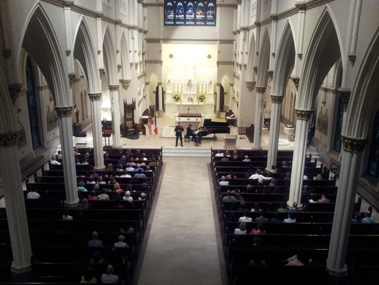 Cathedral of Saint John the Baptist: Cathedral from inside during the concert