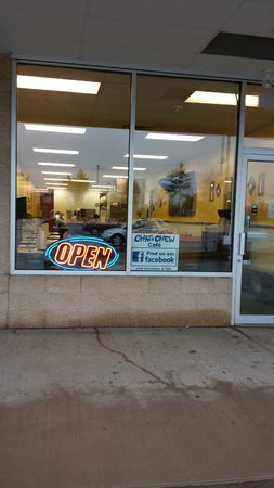 Chat - N - Chew Cafe: new store location next to aharts supermarket