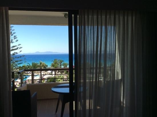 Sheraton Rhodes Resort: vue de la chambre