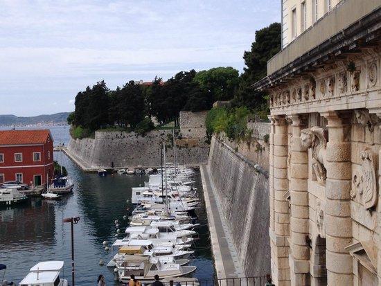 Zadar City Gate: portão principal