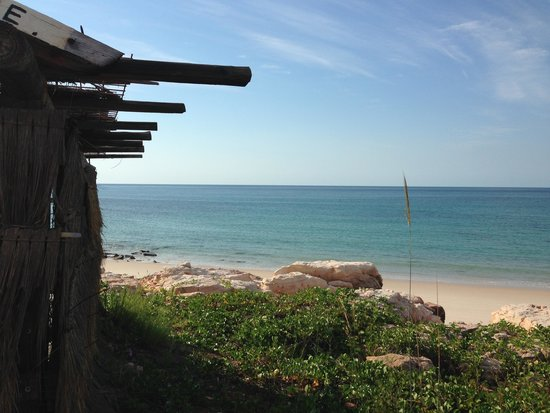 Kooljaman at Cape Leveque: Views from our beach shelter