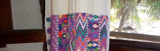 Holbox Hotel Mawimbi : room's curtains