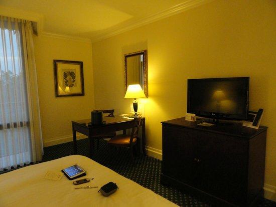 Lisbon Marriott Hotel: Habitación del Hotel Marriot de Lisboa