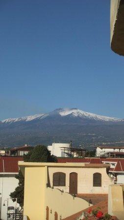 Villa Linda : Etna from our balcony