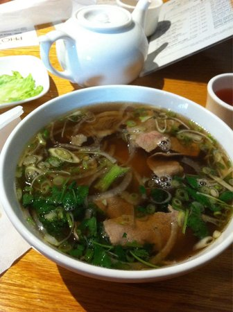 Pho 7 Spice: P4 Rare Beef and Flank Steak Small.