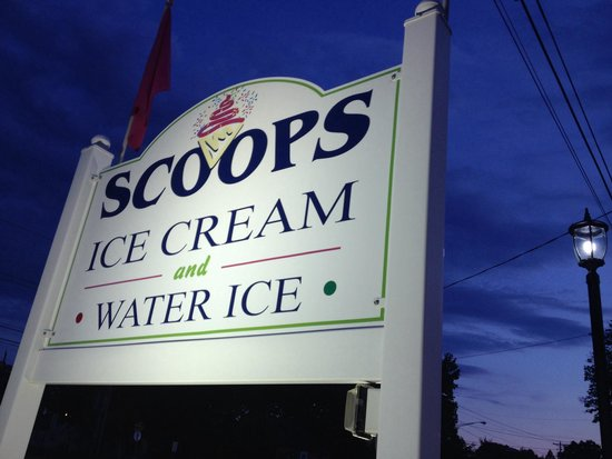 Scoops: The sign