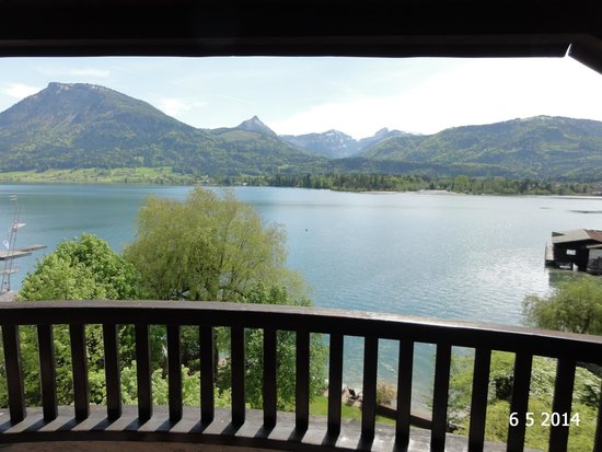 Hotel Cortisen am See: The stunning view from the balcony