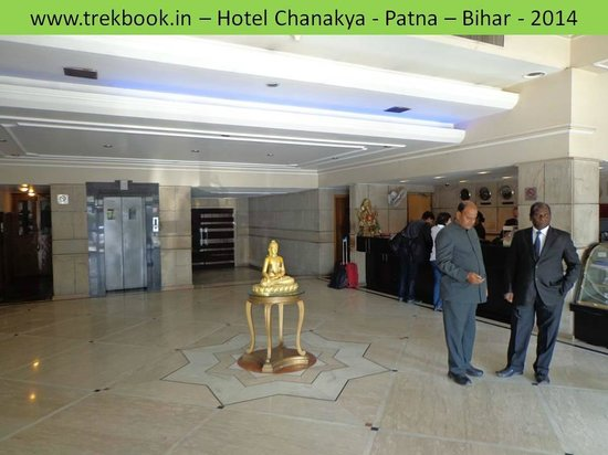 Hotel Chanakya: Reception area
