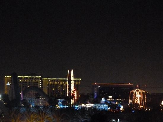 Sheraton Park Hotel at the Anaheim Resort: View from a Disney view room