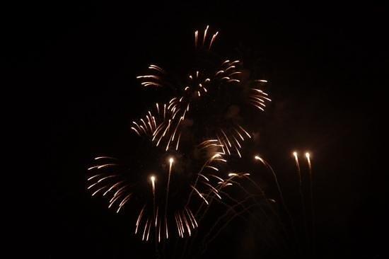 Sheraton Park Hotel at the Anaheim Resort: disney fireworks from hotel balcony
