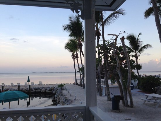 Amy Slate's Amoray Dive Resort: View from porch of room 12