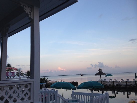 Amoray Dive Resort: View from balcony of room 12