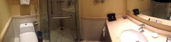 Enjoying International Hotel : good water pressure however door does not close properly