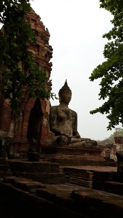 Ayutthaya Ruins : Buddha
