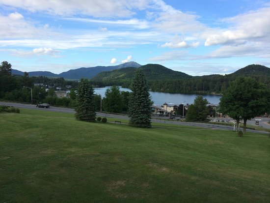Crowne Plaza Lake Placid: View from our room