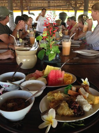 Bumbu Bali Cooking School: Breakfast
