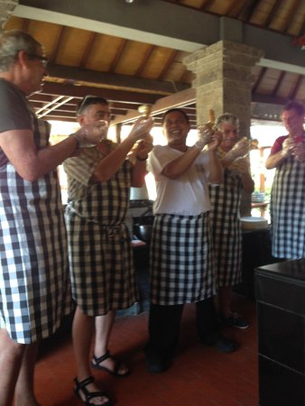 Bumbu Bali Cooking School: Good Teacher!