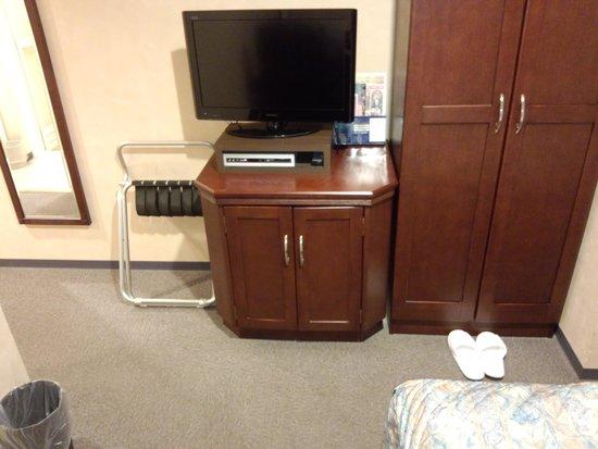 Chitose Station Hotel : 客室設備はノーマルです