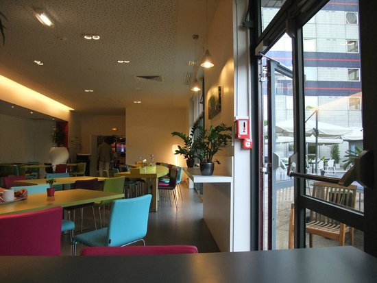 Ibis Styles Paris Bercy: Breakfast Room