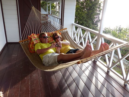 Ti Kaye Resort & Spa : hammock on porch