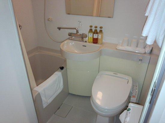 Ark Hotel Osaka Shinsaibashi: 大浴場はなく、ユニットバスです
