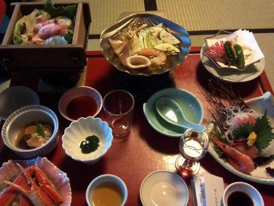 Yukemurinoyado Biwanso: 夕食